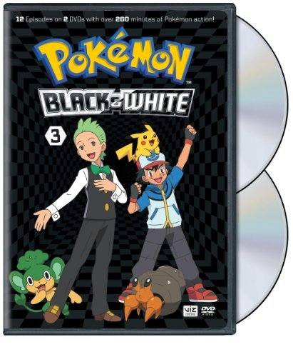 Pokemon Black & White Set 3 DVD Nr