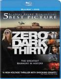 Zero Dark Thirty Chastain Edgerton Pratt Blu Ray DVD Uv R