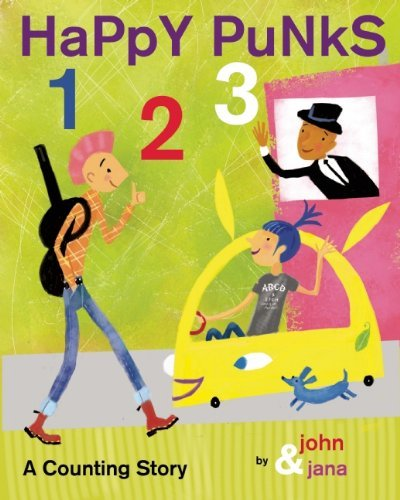 Seven John Happy Punks 1 2 3 A Counting Story