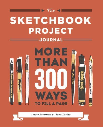 Steven Peterman The Sketchbook Project Journal More Than 300 Ways To Fill A Page