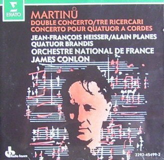 B. Martinu Double Concerto For Strings Concerto Fo