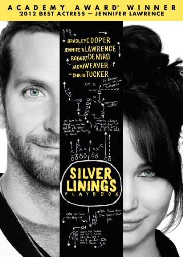 Silver Linings Playbook Cooper Lawrence Deniro DVD R Ws