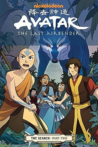 Gene Luen Yang Nickelodeon Avatar The Last Airbender The Search Part Two