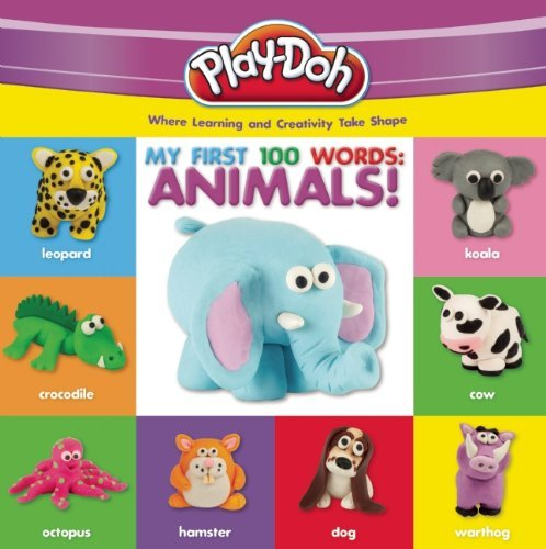 Robyn Natelson Play Doh My First 100 Words Animals