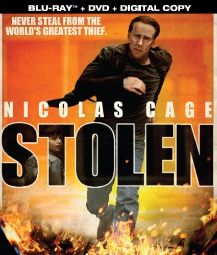 Stolen Cage Nicolas Blu Ray DVD Digital Copy R 2 DVD