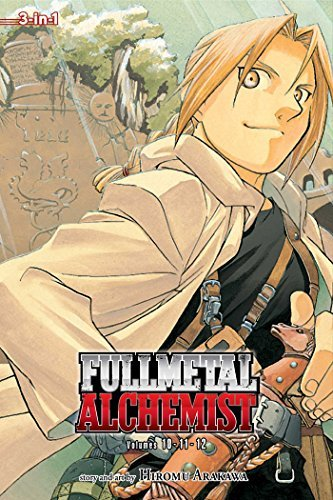 Hiromu Arakawa Fullmetal Alchemist (3 In 1 Edition) Vol. 4 Original