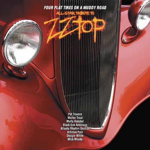 Zz Top Tribute Four Flat Tires On A Muddy Roa Digipak