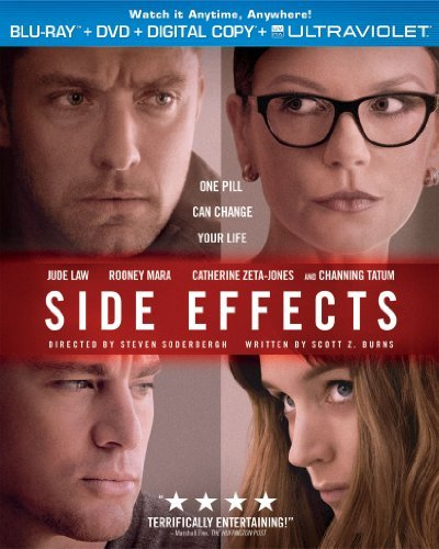 Side Effects Tatum Mara Law Zeta Jones Blu Ray Ws R Incl. DVD Dc Uv