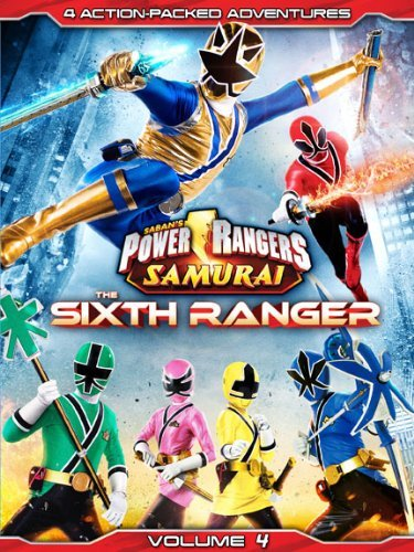 Power Rangers Volume 4 Sixth Ranger Nr