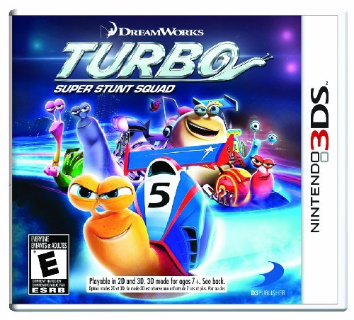 Nintendo 3ds Turbo Super Stunt Squad D3 Publisher Of America