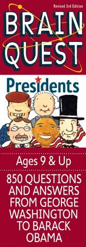 Editors Of Brain Quest Brain Quest Presidents 0003 Edition;revised