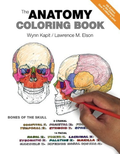 Wynn Kapit The Anatomy Coloring Book 0004 Edition;