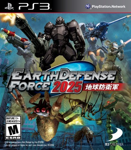 Ps3 Earth Defense Force 2025 D3 Publisher Of America T