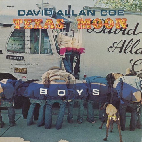 David Allan Coe Texas Moon