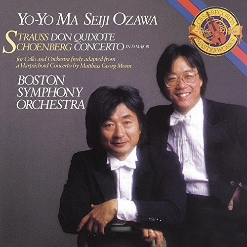 Yo Yo Ma Don Quixote Op. 35 & Concerto Remastered