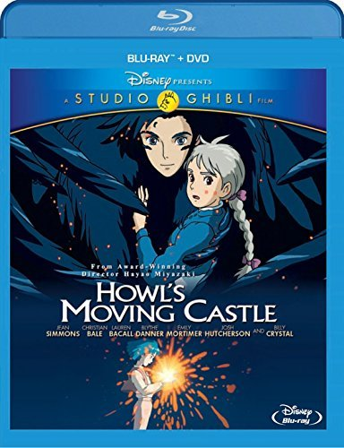 Howl's Moving Castle Studio Ghibli Blu Ray DVD G Ws