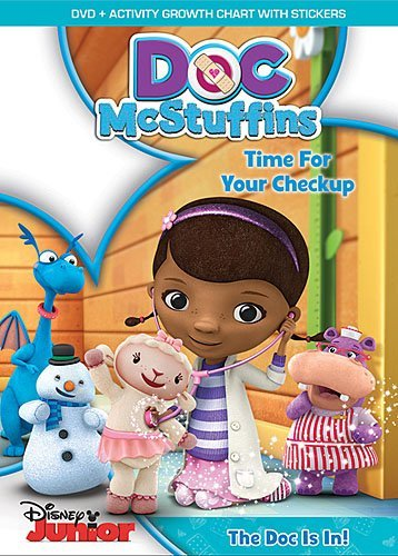 Doc Mcstuffins Time For Your Check Up DVD Tvy