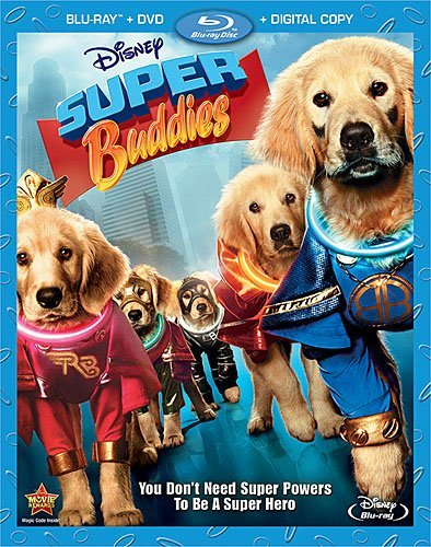 Super Buddies Super Buddies Blu Ray Ws G Incl. DVD Dc