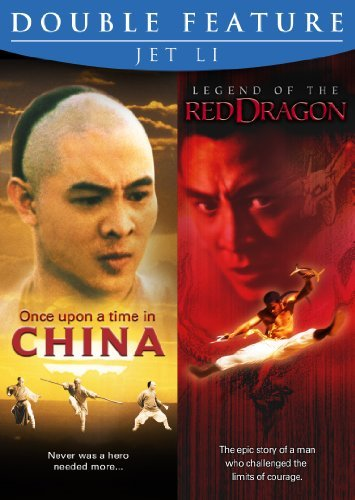 Li Jet Once Upon A Time In China Legend Of The Dragon Double Feature R
