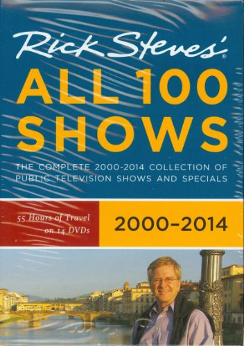 Rick Steves Rick Steves' Europe All 100 Shows DVD Boxed Set 20