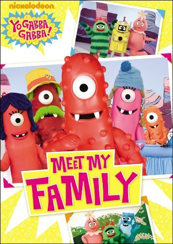 Meet My Family Yo Gabba Gabba Nr Incl. Mommy Loves You Notes