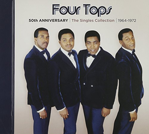 Four Tops 50th Anniversary Singles Colle 3 CD