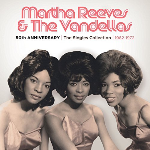 Martha & The Vandellas Reeves 50th Anniversary Singles Colle 3 CD