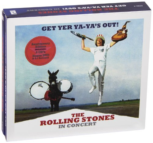 Rolling Stones Get Yer Ya Ya's Out! Rolling S Expanded Ed. 3 CD Incl. DVD