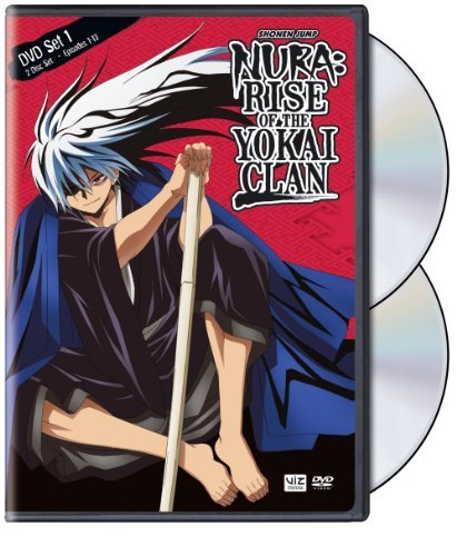 Set 1 Nura Rise Of The Yokai Clan Nr 3 DVD