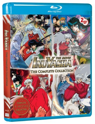 Inuyasha The Movie Complete Collection Blu Ray Ws Nr 2 Br