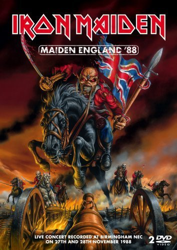Iron Maiden Maiden England '88 Explicit Version 2 DVD
