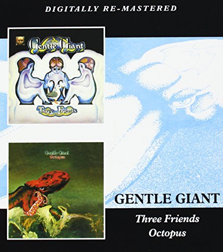 Gentle Giant Three Friends Octopus 2 CD