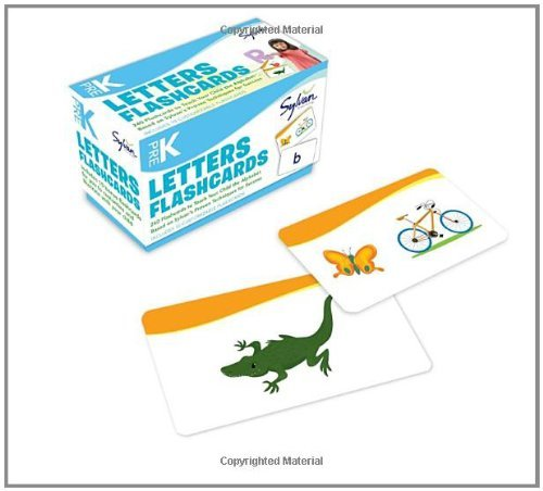 Sylvan Learning Pre K Letters Flashcards 240 Flashcards For Building Better Letter Skills