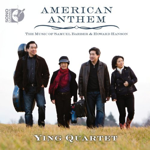 Barber Hanson Thompson American Anthem Ying Quartet Neiman Scarlata Incl. Blu Ray Audio