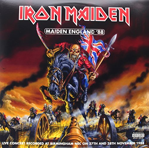 Iron Maiden Maiden England (2lp) Explicit Version 2 Lp