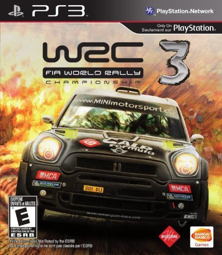 Ps3 Wrc 3 Fia World Rally Champion Namco Bandai Games Amer E
