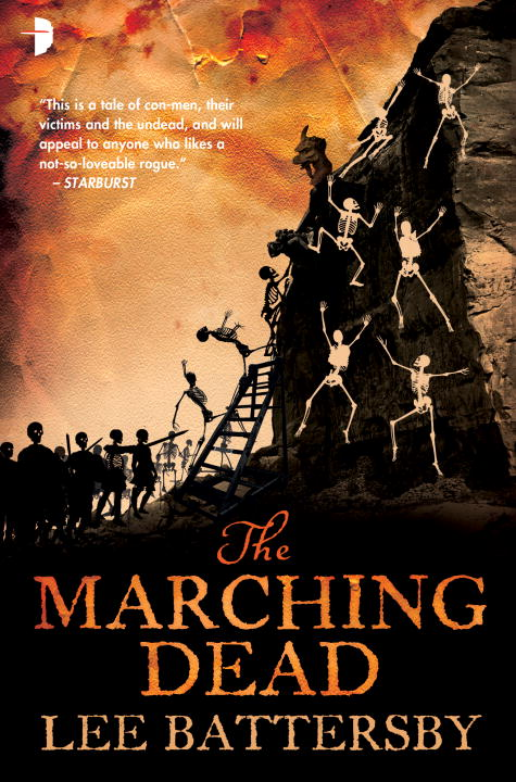 Lee Battersby The Marching Dead