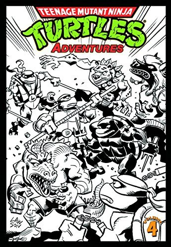 Dean Clarrain Teenage Mutant Ninja Turtles Adventures Volume 4