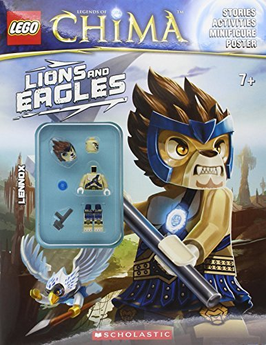 Inc. Scholastic Lego Legends Of Chima Lions And Eagles (activity Book #1)