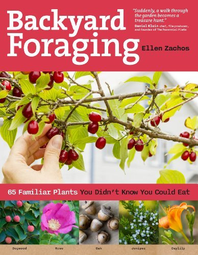 Ellen Zachos Backyard Foraging 65 Familiar Plants You Didn't Know You Could Eat