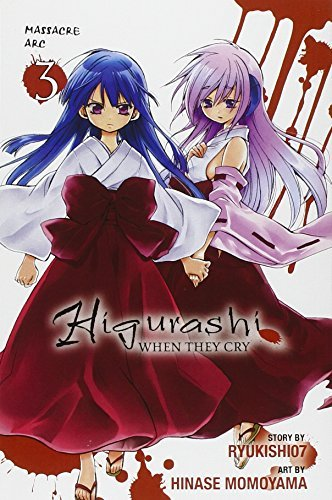 Ryukishi07 Higurashi When They Cry Massacre Arc Vol. 3