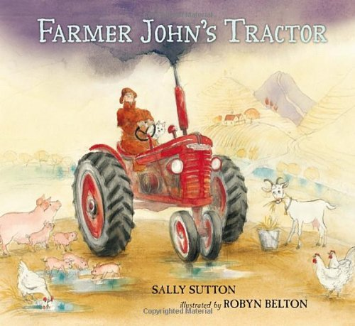 Sally Sutton Farmer John's Tractor