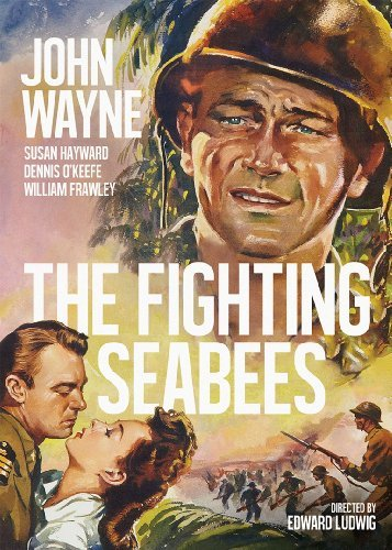 Fighting Seabees (1944) Wayne Hayward O'keefe Frawley Nr