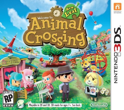Nintendo 3ds Animal Crossing New Leaf