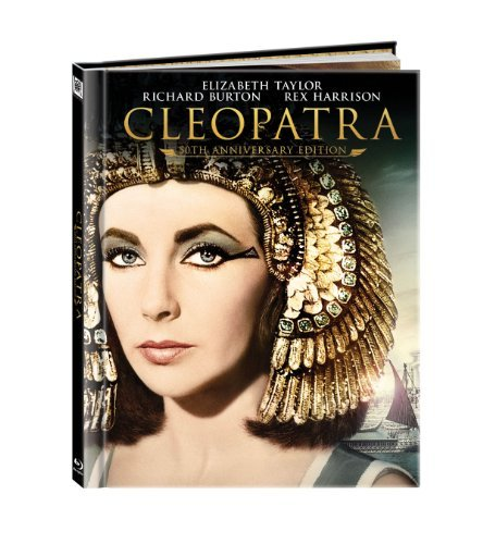 Cleopatra 50th Anniversary Taylor Burton Blu Ray Ws 50th Anniv. Ed. G Incl. Book