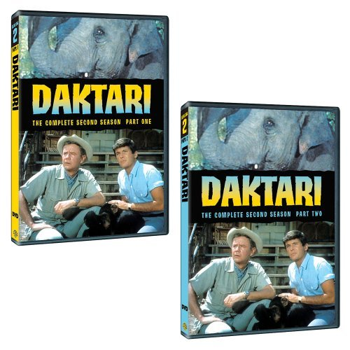 Daktari Season 2 DVD Mod This Item Is Made On Demand Could Take 2 3 Weeks For Delivery