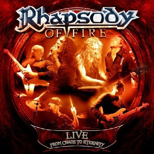 Rhapsody Of Fire Live From Chaos To Eternity 2 CD