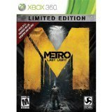 X360 Metro Last Light Limited Edition Lmtd Ed.