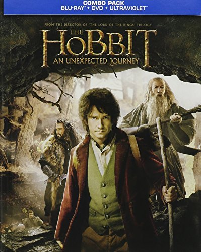 Hobbit An Unexpected Journey Mckellen Freeman Armitage Blu Ray Digibook