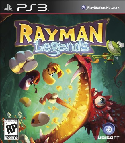 Ps3 Rayman Legends Ubisoft E10+